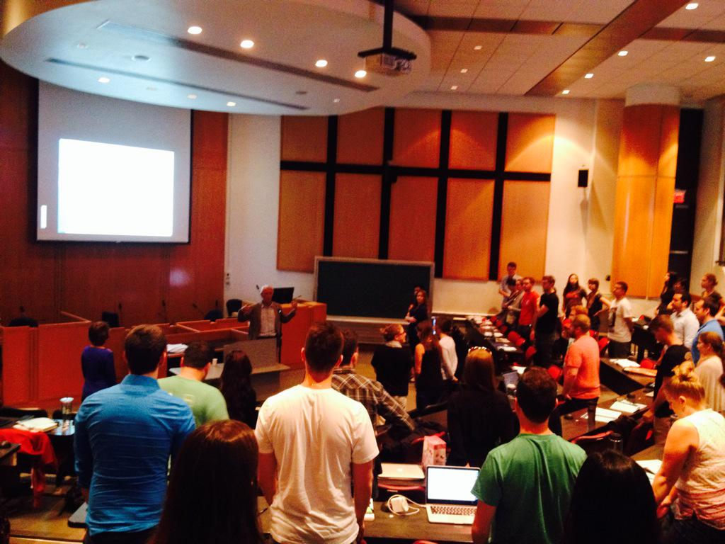 Stretching Minds and Bodies at uOttawa Law Orientation 2015