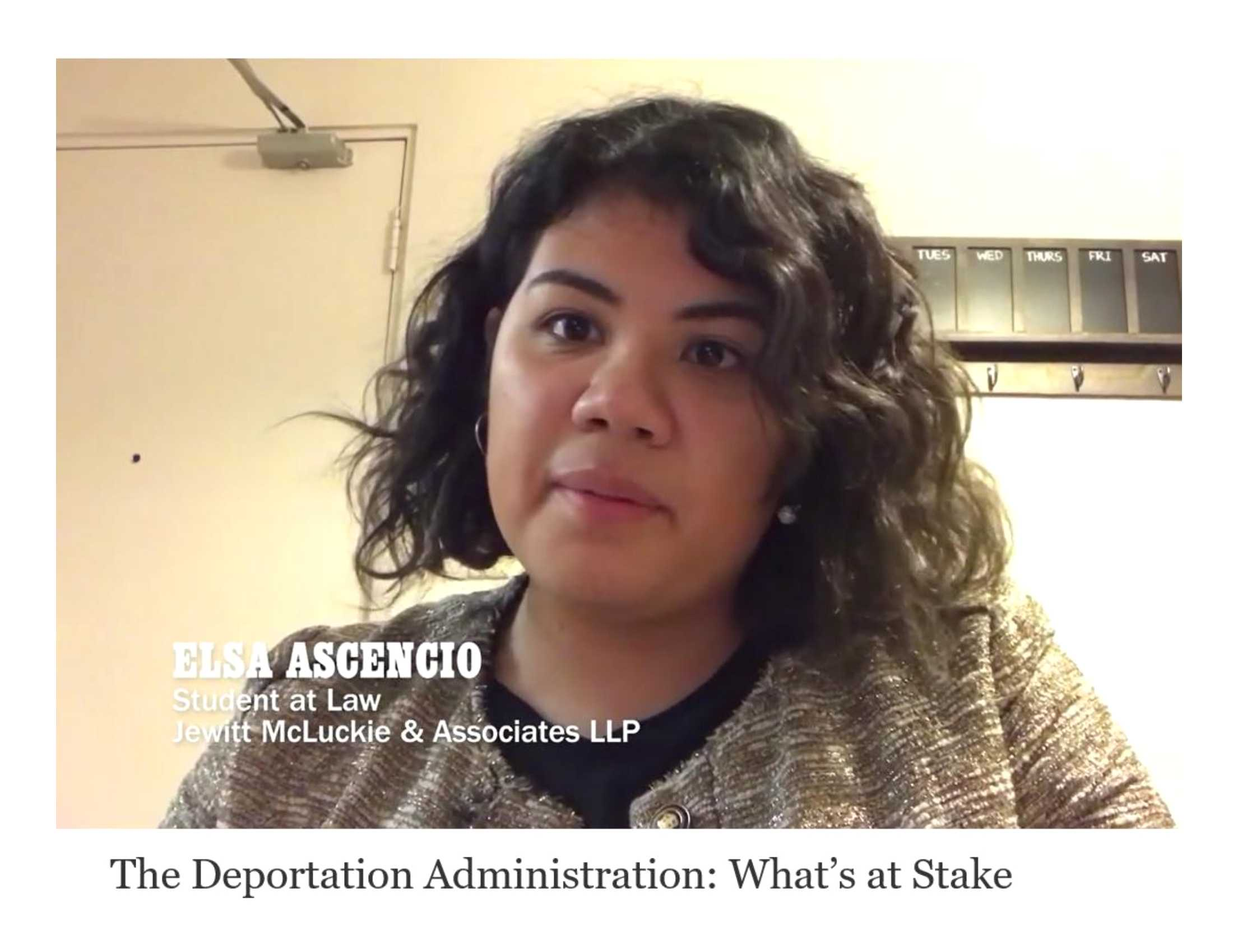 Elsa Ascencio advocates for immigrant justice